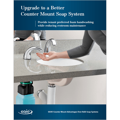 GOJO Counter Mount Soap Systems