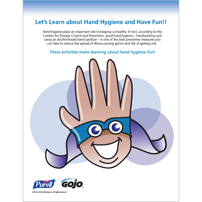 Lets Learn About Hand Hygiene and Have Fun Activity Plan