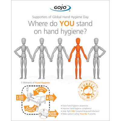 GOJO Supporters of Global Hand Hygiene Day