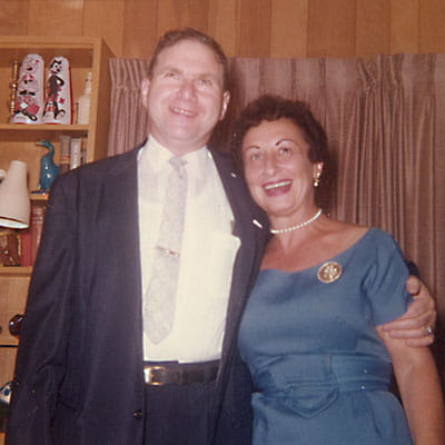 Goldie and Jerry Lippman