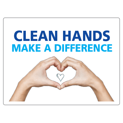 Clean hands make a difference
