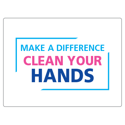 Make a difference clean your hands