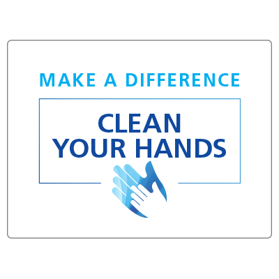 Make a difference clean your hands 2