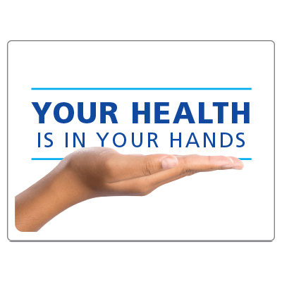 Your health is in your hands 2