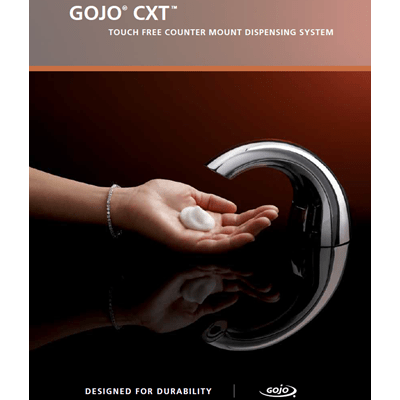 GOJO®  CXT ™ Touch Free Counter Mount Dispenser System