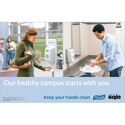 Our Healthy Campus Starts with You Poster