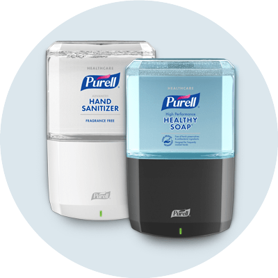 PURELL Sanitizer and Soap