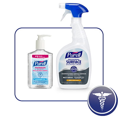 From skin to surfaces, PURELL® products kill more than 99.99% of most common germs.