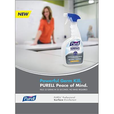 PURELL™ Professional Surface Disinfectant | Brochure