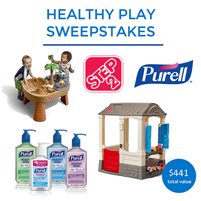 Go Out and Play! - Healthy Play Sweepstakes