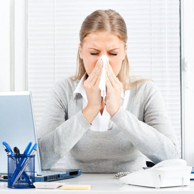 Note to Sick Co-worker, help us stay healthy please stay home