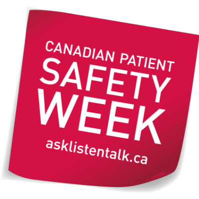Canadian Patient Safety Week 2018