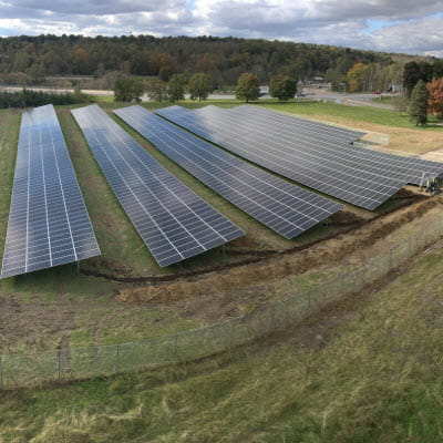GOJO Wooster Solar Array