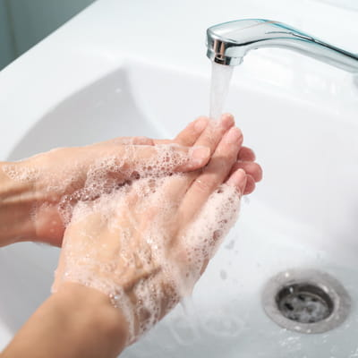 Handwashing at home