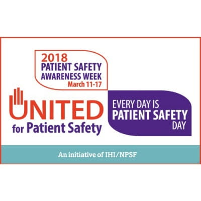United Way Patient Safety Awareness Week 2018
