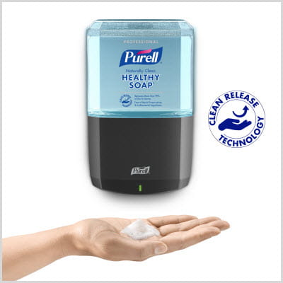 PURELL Brand CLEAN RELEASE Technology
