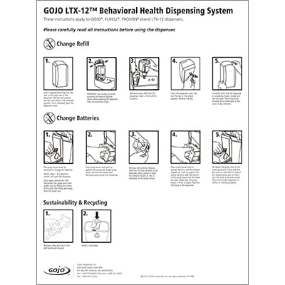 LTX Behavioral Health Dispensing System - Refill Loading Instructions