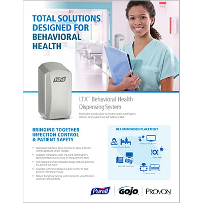 Total Solutions Designed for Behavioral Health - Sell Sheet
