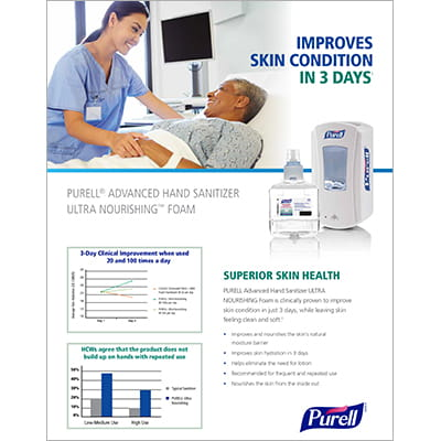 PURELL® Advanced Hand Sanitizer ULTRA NOURISHING™ Foam