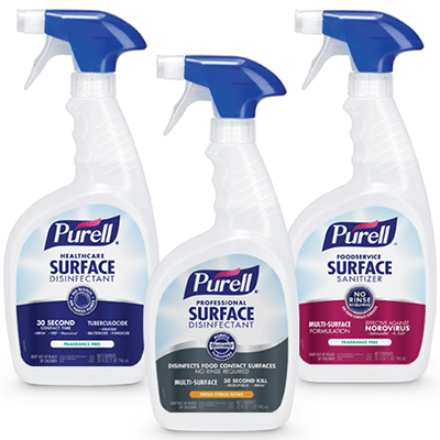 PURELL Sanitizer and Disinfectant Category Image