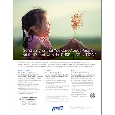 PURELL SOLUTION™ - Sell Sheet