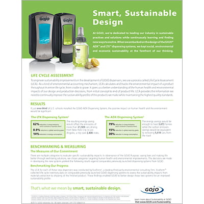 Smart, Sustainable Design - Sell Sheet
