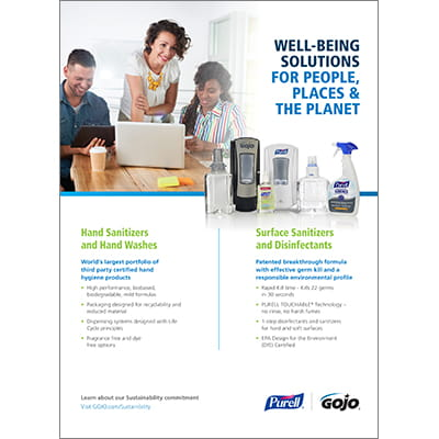 GOJO Well-Being Solutions for People, Places & the Planet
