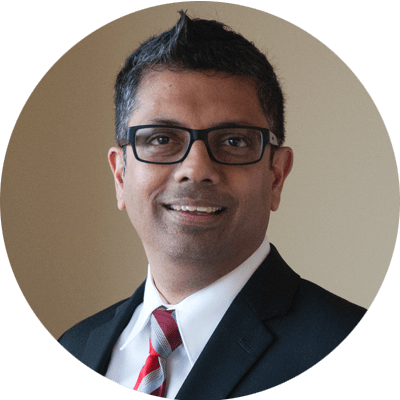 Srini Venkatesh, Ph.D., GOJO Chief Science Officer and Executive Sponsor of Sustainability