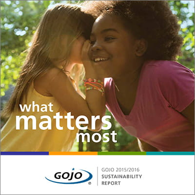 2015-2016 GOJO Sustainability Report