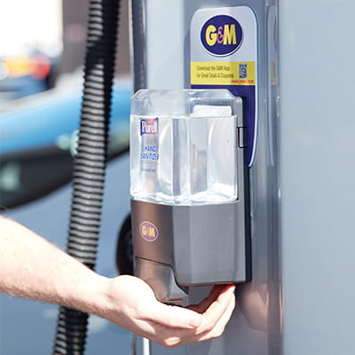 G&M Oil - PURELL at the Pump