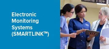 Electronic Monitoring Systems Smartlink at work