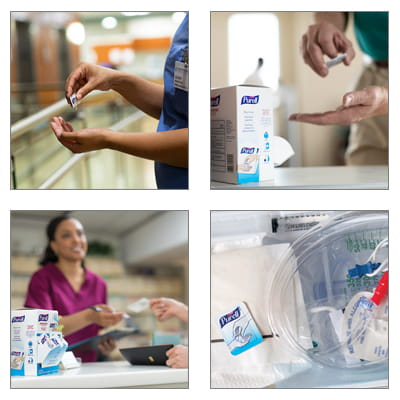 PURELL Single Use Use Case Groupings