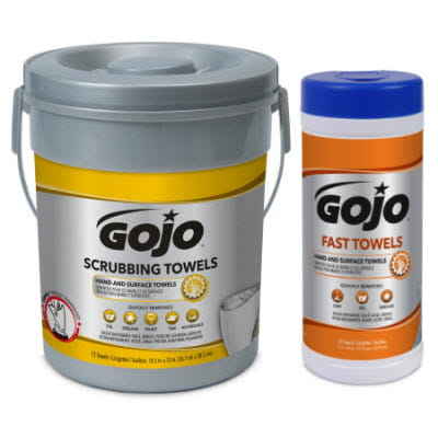 GOJO Scrubbing Towels Fast Towels